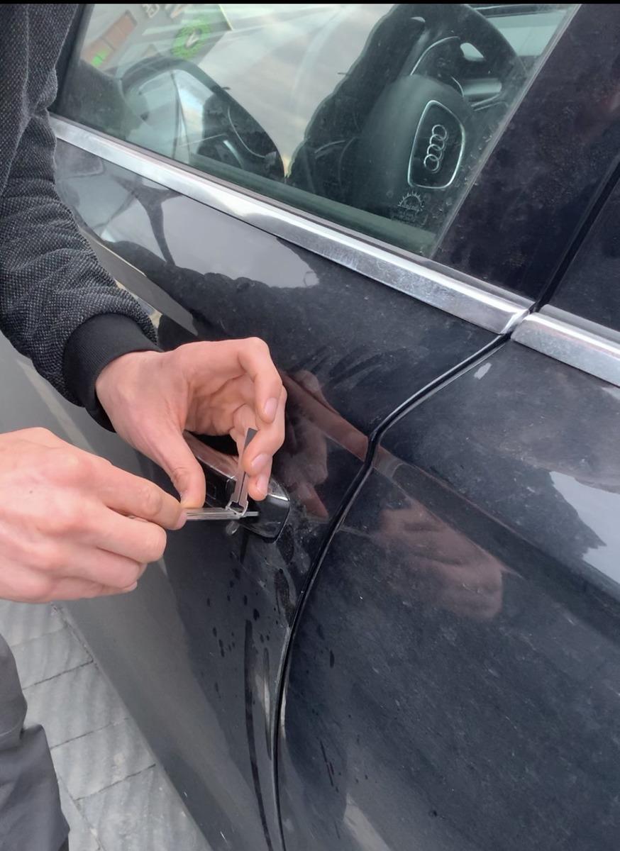 відкрити машину