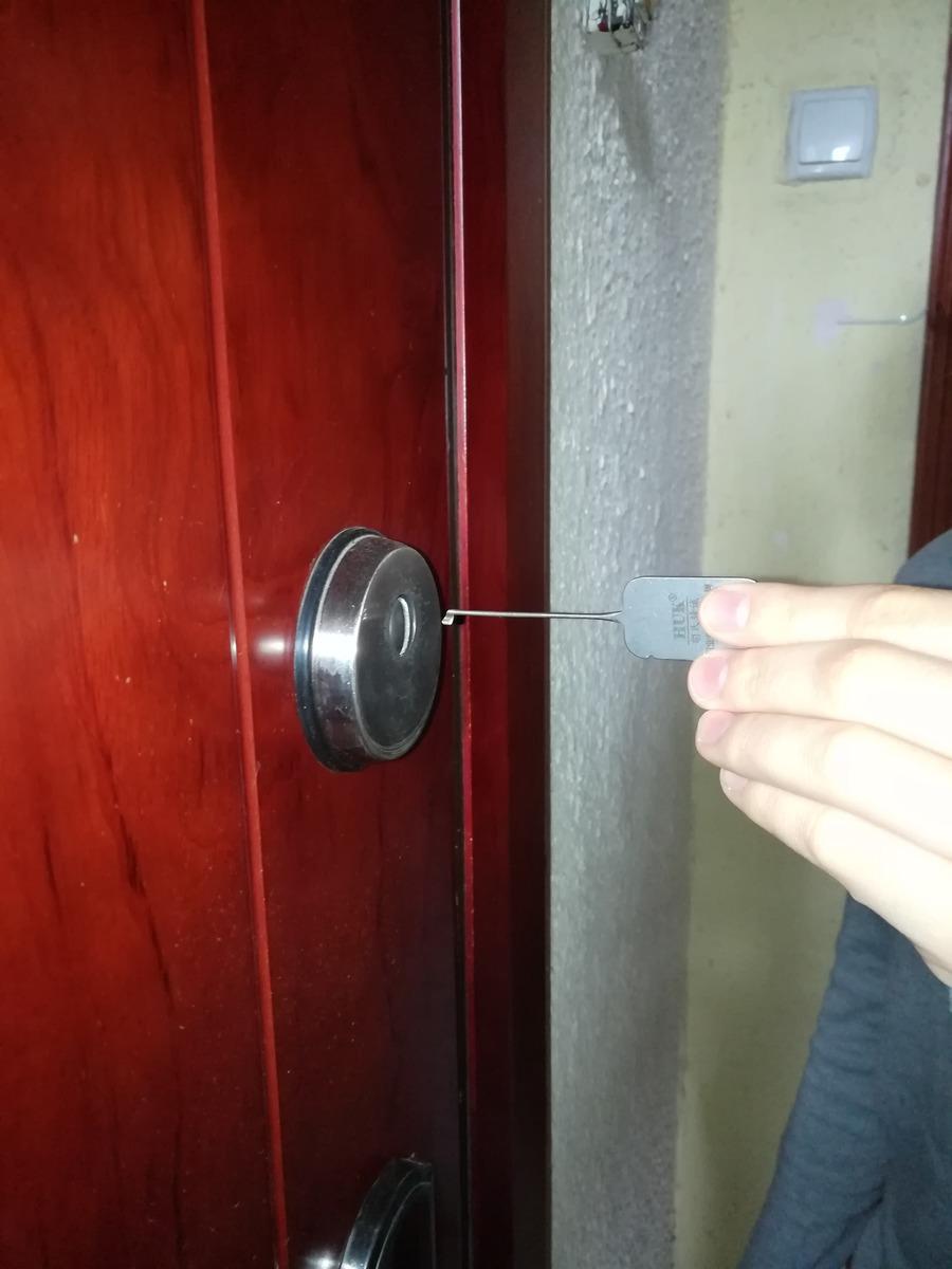 відкривання дверей
